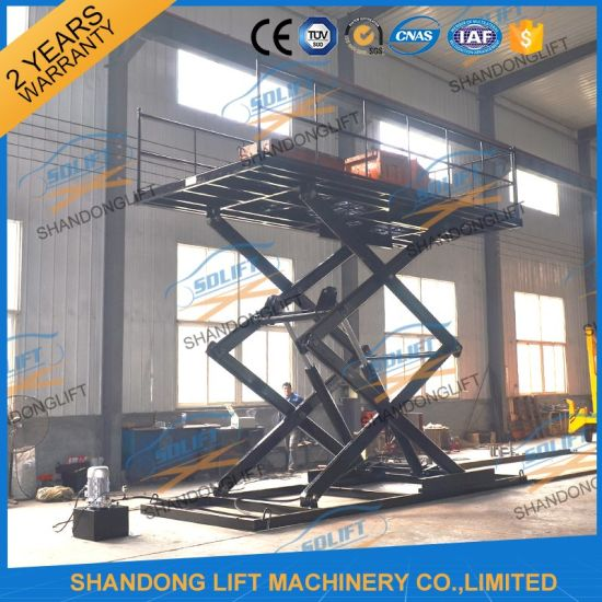 Automatic Parking System Car Elevator Parking Systems with Ce