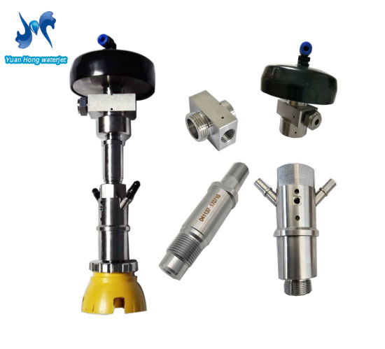 China waterjet flow xd cutting head k psi parts rotary