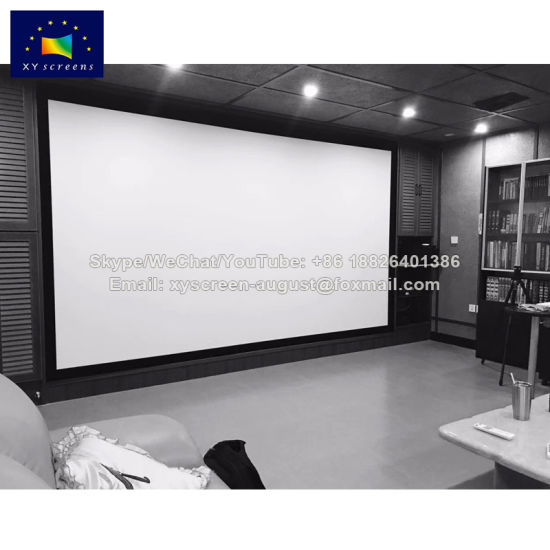 China Xy Screens Wall Mounted Fixed Frame Screen Home Entertainment ...
