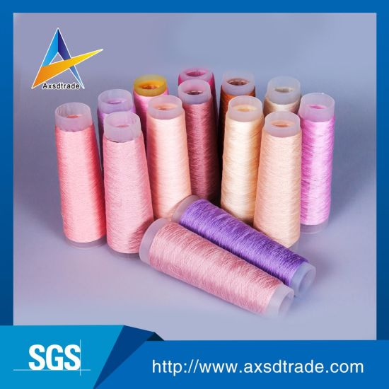 100% Spun Polyester Yarn FDY Yarn Knitting Yarn Home Textile pictures & photos