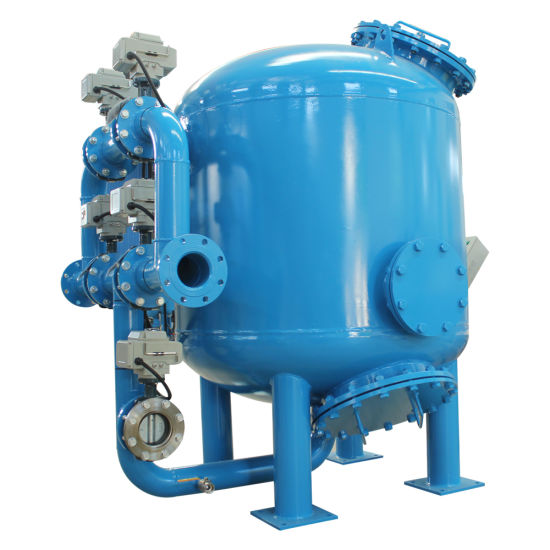 Industrial Automatic Rapid Sand Filter for Circulating Water System