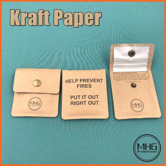 Kraft Paper Pocket Ashtray