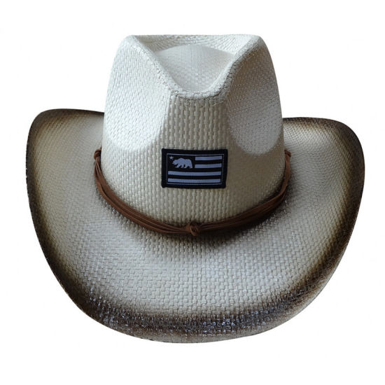 DIY Paper Cowboy Hat (favor box, gift box) | Cowboy hat crafts ... | 550x550
