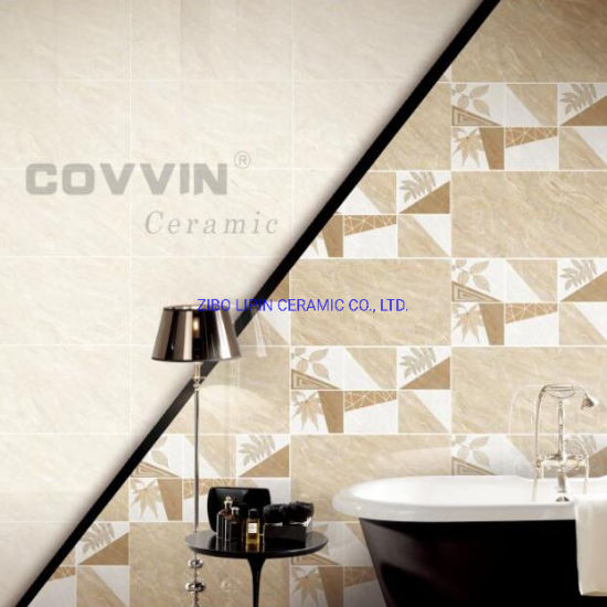 Factory Directly Price Bathroom Design Beige Marble Wall Tiles pictures & photos