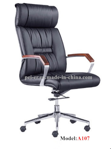 Ergonomic Office Home Furniture Classic Swivel Leather Chair (PE-B107) pictures & photos