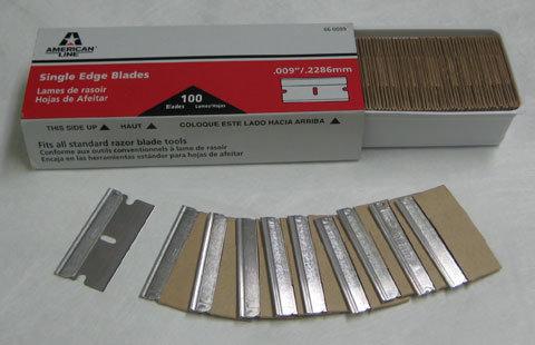 Safety Stainless Steel Razor Blades