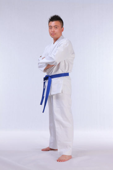 Good Quality Karate Uniforms with Custom Embroidery Logo pictures & photos