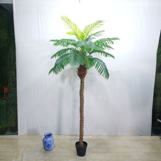 China Twenty Years Factory Plastic Simulation Decorative Tree Bonsai Artificial Palm China Artificial Palm And Palm Price