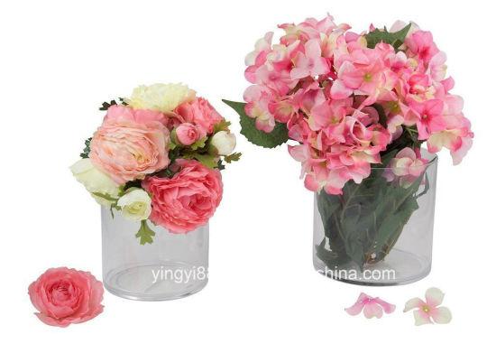 China Decorative Acrylic Flower Vase For Home Wedding Decor China
