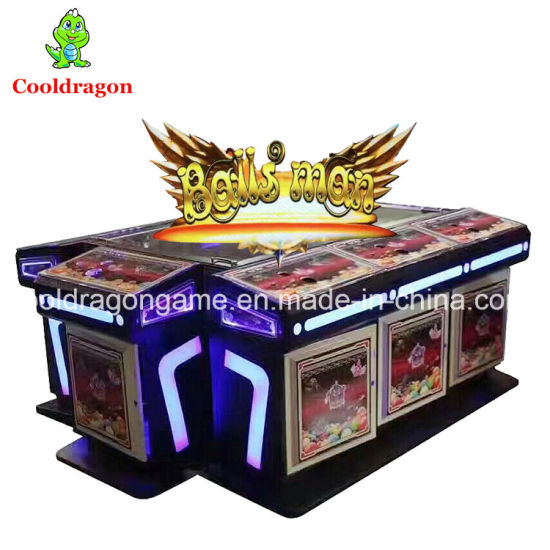 Balls Man Game Board Kits Fish Game Table Gambling Arcade Fishing Game  Machine
