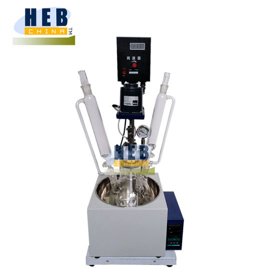 Hb-2L Multi-Funtion Reactor/Single Layer Glass Reactor with Heating Bath