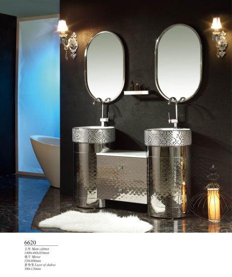 304 Stainless Steel Modern Storage Toilet Metal Hotel Bathroom Furniture