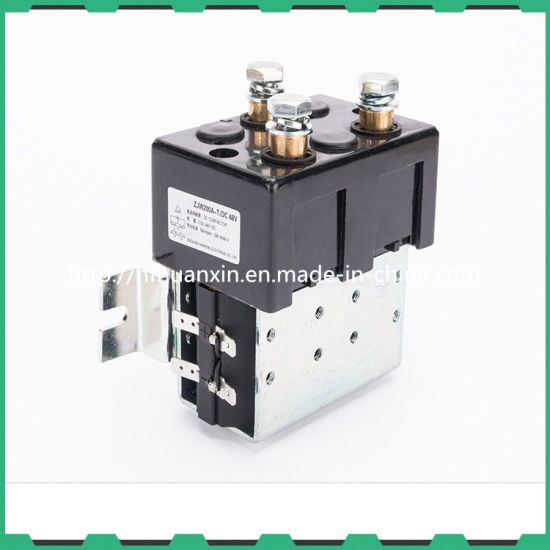 China Zj600A 12V 24V 600A Magnetic DC Power Contactor