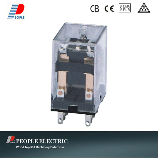China 5A 240VAC 28VDC Electrical Relay Hh52p My2 with Copper ... on