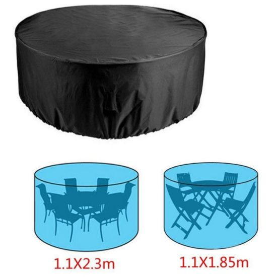 Patio Round Table Chair Set Cover