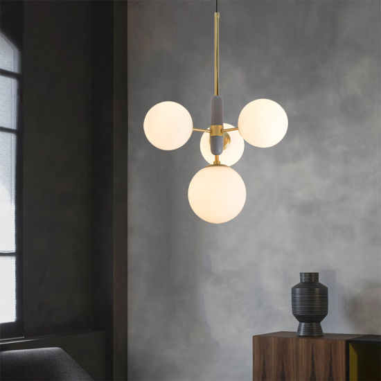 Modern Glass Ball Hanging Pendant Lamp, Modern Glass Hanging Lamps