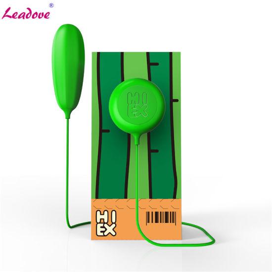 10 Speed Green Jump Egg Vibrator Remote Control Vibrating Egg Clitoral G-Spot Stimulators Sex Toys
