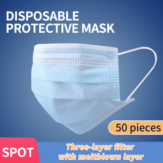 Manufacturers Direct Selling 3ply Disposable Face Mask