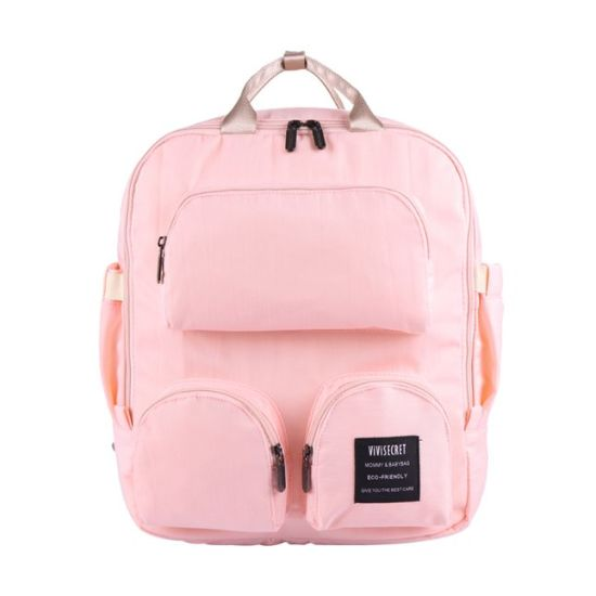 Best Quality Eco Friendly Baby-Diaper Bags Large Cheap Polyester Mummy Backpack