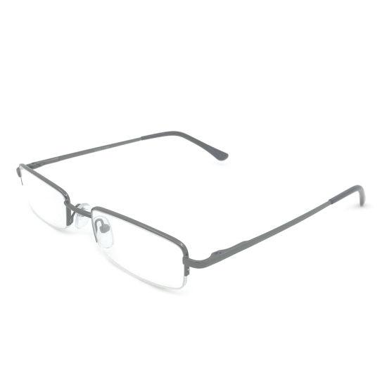 Metal Frame Half Eyewear Custom Logo Reading Glasses Eye Glasses