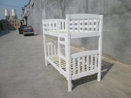 Twin Bunk Bed for Kids Solid Wood Bed Children Double Bunk Beds with High Quality