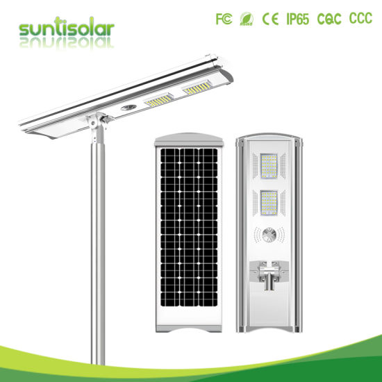 ISO 30W-150W Power Energy Outdoor Garden Solar LED Street/Road Light