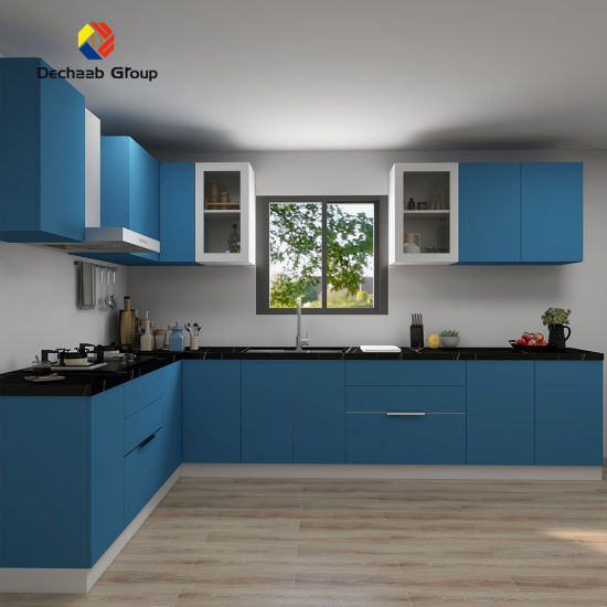 China Laminate Ready Made Plastic, Ready Kitchen Cabinets