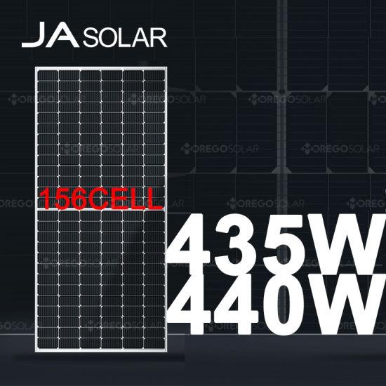 Ja Solar Mbb 9bb Half Cell Solar Panel 440W 435W 430W Solar Power Solar Panels