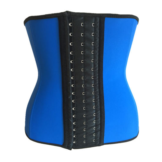 Latex Waist Cincher Waist Trainer Women Slimming Body Shaper Corsets Workout Hourglass Shapewear