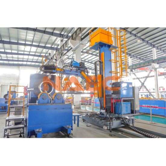 Automatic TIG Welding Machine for Pipe Spool Fabrication