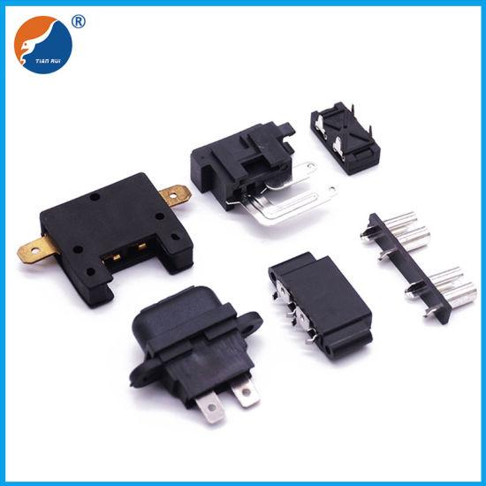 china automotive fuse holder pcb mount car electronic fuse clip - china pcb fuse  holder, blade fuse holder  dongguan tianrui electronics co., ltd.