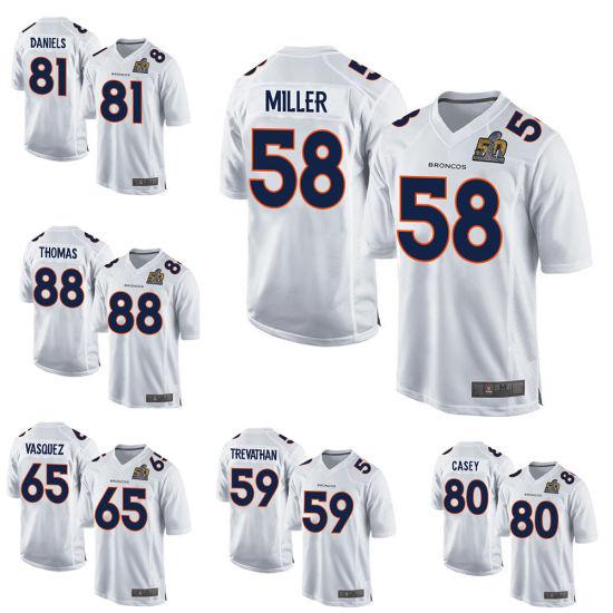 more photos f2de2 6ec19 Wholesale Denver Football Jersey Emmanuel Sanders Custom Any Team