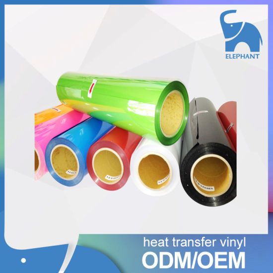Korea Quality PU PVC Heat Transfer Vinyl for T-Shirt. pictures & photos