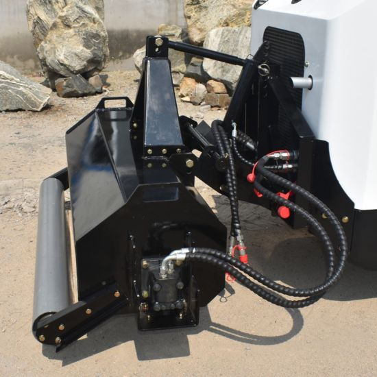 China Skid Steer Flail Mower for Loader Tractor with Adjustable