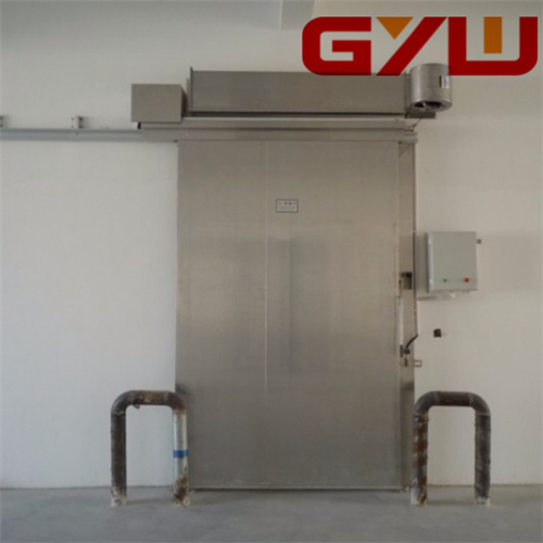 Electric Single Sliding Door for Cold Storage pictures & photos