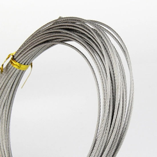 Pulling Rope Anti-Twisting Galvanized Steel Wire Rope pictures & photos