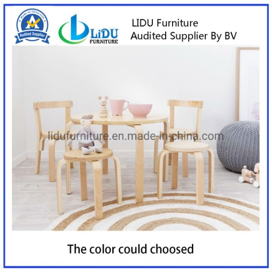 Small Wood Living Room Children Kids Stools Wooden Stool Hot Sale Wooden Kids Stool Wooden Stool