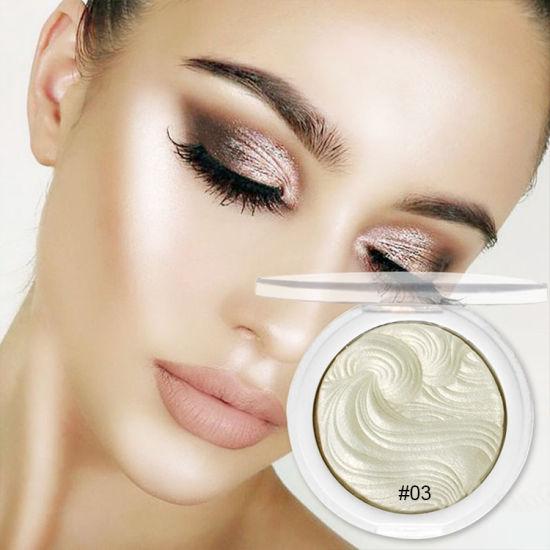 China Highlighter Makeup Shimmer Powder Highlighter Palette Base