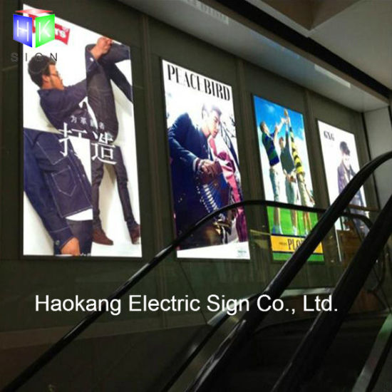 Slim Aluminum Magnetic Frame LED Light Box with A0 Size Movie Poster Advertising Backlit Sign pictures & photos