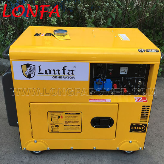 small portable diesel generator. Delighful Generator 8kVA Silent Diesel Generator Small Portable Home Use  Silent Type Generator With E