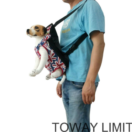 Printing Canvas Front Dog Carrier Pet Outdoor Bags pictures & photos