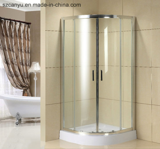 China Luxury Solid Polishing Portable Shower Room With Tempered