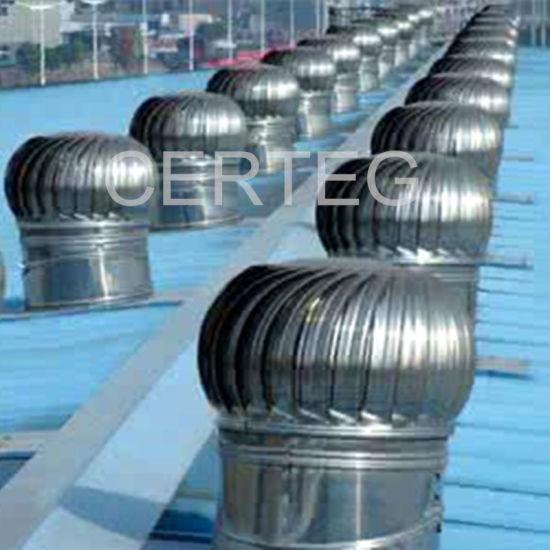 steel vent cowl roof air wind turbine ventilators wind power roof fan exhaust fan for workshop - Roof Turbine