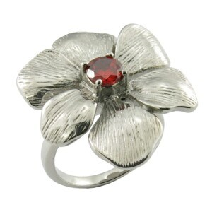 2015 Best Selling Items Casting Jewelry Stainess Steel Flower Ring pictures & photos