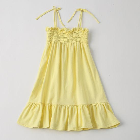 Wholesale Children Clothing Kids Girls Slip Dress Girls Princess Dress