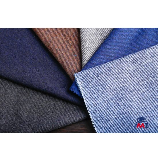 Wool Fabric, Twill Woolen Fabric for Overcoat, Trousers, Suit