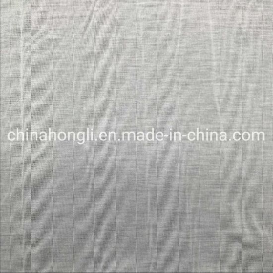High Quality 50%Cotton 50%Modal Single Jersey Knit Fabric with Enzyme Wash for T-Shirt