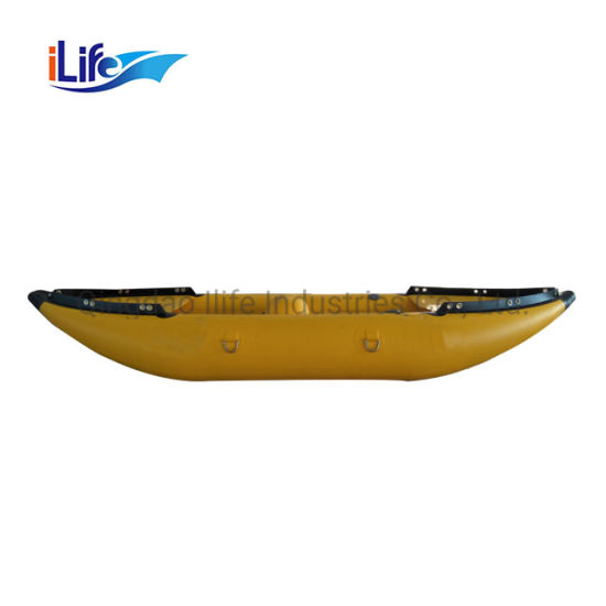 Ilife Best Quality Used Best Low Price Inflatable Canoe Double Professional Fishing Kayak