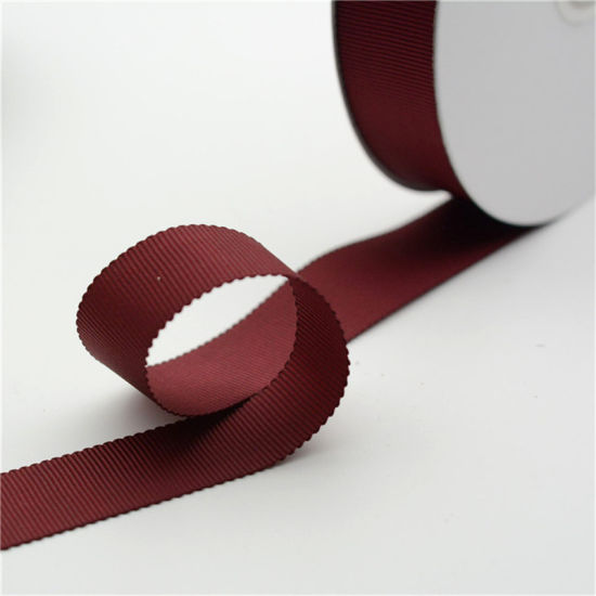 Grosgrain Ribbon Roll DIY Gift Packaging Decorative Tapes Ribbons Sewing Fabric Accessories