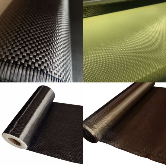 Free Samples Ud Carbon Fiber Fabric, Kevlar Aramid Fabric, Carbon Aramid Hybrid Fabric, Basalt Fabrics, Carbon Fibre Fabric with Factory Price